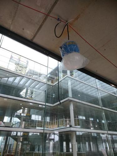 48v BOJ belysning med 20w LED montert